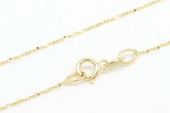 14kmounting005 wholesale 16inch 14k gold necklace chain