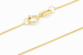 14kmounting006 wholesale 16inch 14k gold box chain