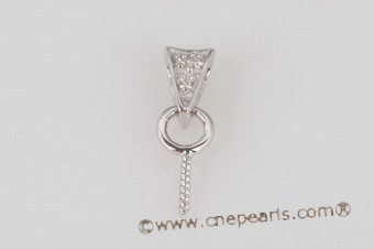 18kmounting014 18K white gold& diamond pendant mounting on sale