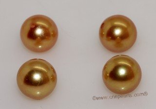 aplg8-8.5aaa Golden 8-8.5mm AAA Grade round chinese akoya loose pearls