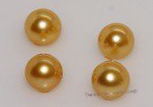 aply7-7.5aa Yellow 7-7.5mm AA Grade round chinese akoya loose pearls