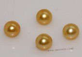 aply7-7.5a Yellow 7-7.5mm A Grade round chinese akoya loose pearls