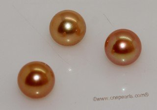 aplg7-7.5aa Golden 7-7.5mm AA Grade round chinese akoya loose pearls