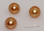 aplg8-8.5a Golden 8-8.5mm A Grade round chinese akoya loose pearls