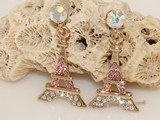FSE019  Stylish Retro Eiffel Tower Shaped Fashion Eardrop  Earring