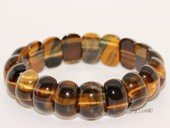 gbr055 Fashion Tiger Eyes Elastic Gemstone Bracelet Jewelry