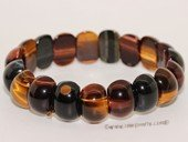 gbr057 Fashion Tiger Eyes Elastic Gemstone Bracelet Jewelry