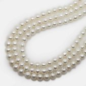 Round4-5 wholesale 4-5mm cultured natural round pearl strands,from AAA+ to A grades