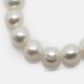 Round7-8 Wholesale 7-8mm freshwater natural round pearl string,from AAA+ to A grades