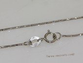 sc061 16inch 925 Sterling silver pendant necklace chain