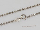 sc067 16inch 925 Sterling silver chain use for pendant