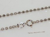 sc070 18inch 925 Sterling silver chain use for pendant