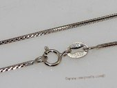 sc072 16inch 925 Sterling silver chain use for pendant