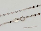 sc074 16inch 925 Sterling silver chain use for pendant