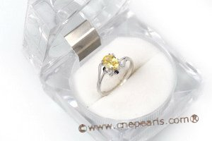 SZR007 Designer Inspired  Love Sterling Silver CZ Ring