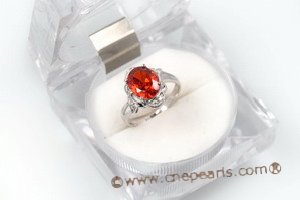 SZR014 Classic Cubic Zirconia Ring in 925 sterling silver