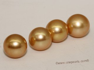 Yssp11-12mm Wholesale treatment golden color11-12mm south sea loose pearl,AAA grade