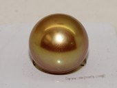 Yssp14-15mm Golden color 14-15mm AAA grade south sea loose pearl in wholesale