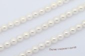 aps7-7.5aaa1 7-7.5mm AAA+ White chinese Cultured Akoya Pearl strands 16-inch in length
