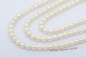 aps8-8.5 Wholesale 8-8.5mm white AA+ to A Grade Cultured akoya pearl strands in 16inch