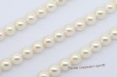 aps8.5-9 8.5-9mm large size white Cultured akoya pearl strands in white color from AAA to A Grade