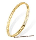 babr016 Gold Plated Handcraft Brass bangle and bracelet