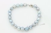 Bapb012 Lovely 7-7.5mm Baroque shape Culutred Akoya pearl Bracelet