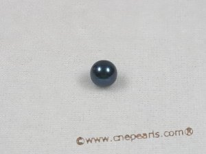 bapl6.5-7aa Black 6.5-7mm AA Grade round chinese akoya loose pearls