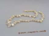 blister001 five strands 8*12mm nature white blister pearls