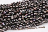 blister041 11-13mm Freshwater Baroque Blister Pearl Strand in Black