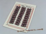 blpb005 wholesale 8-8.5mm AAA grade wine red bread loose pearl