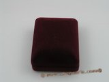 box015 20pcs red Velvet trinket boxs in wholesale