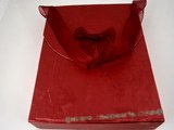 box044 wholesale 20pcs Red Cardboard Portable Jewelry Box