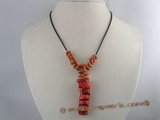 cn080 wholesale branch coral pendant necklace