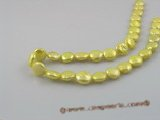 coin_13 12mm dye color cultured freshwater coin shape pearls strands