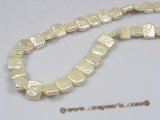 coin_18 9*12mm white oblong coin pearl strands for wholesale