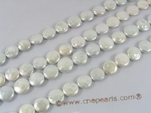 coin_23  nature white 16-17mm coin freshawater pearl strands on sale