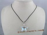 CP001 30mm starfish shape Austria crystal pendant