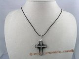 CP009 29*37mm cross Austria crystal enhancher pendant
