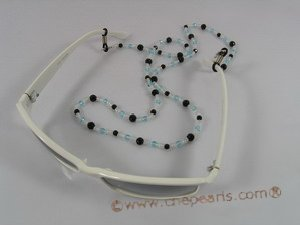 GCH007 Fashion faceted crystal & glass beads Eyeglass holders onsale