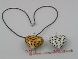 gpd013 10 pieces 40mm colourful heart chinese lampwork glass pendant