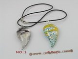 gpd020 10 pieces 65mm capsicum design coloured glaze pendant