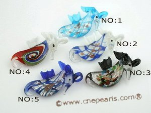 gpd065 Ten pieces Colored Hippocampus glaze pendants wholesale