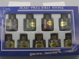 gs006 Five sets Healing power gemstone gift sets(9 bottle) wholesale