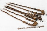 gsn101 Three style tiger eye princess necklace on sale