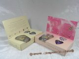 hbset001 50pcs(one carton) freshwater wish pearl gift set with earings&ring