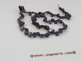 keshi05 side-dirlled dark purple red keshi pearls wholesale