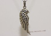 mtj023 Sterling Silver Single Angel Bird Wing Pendant  Jewelry