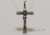 mtj026 Sterling Silver Cross Design Men&#39s Pendant