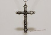 mtj028 Sterling Silver Cross Design Men&#39s Pendant